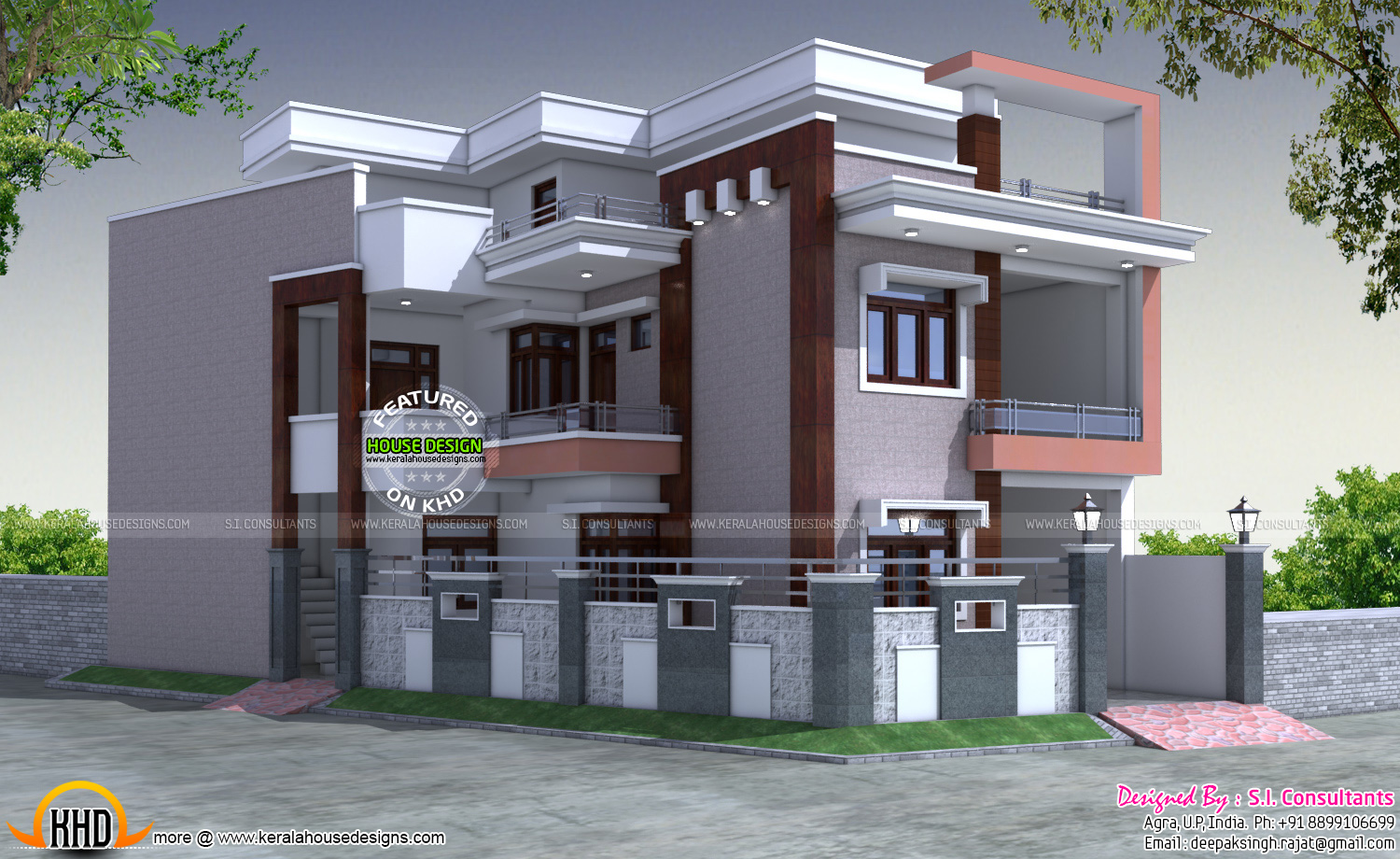 30x60 indian house plan kerala home design and floor plans for Floor plans of houses in india