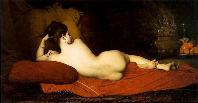 Jules Joseph Lefebvre - Odalisca - erotismo - arte