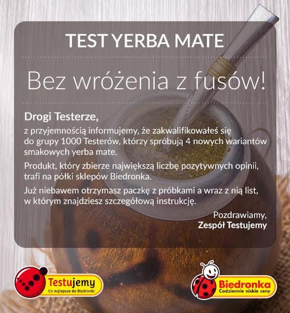 Testujemy z Biedronką