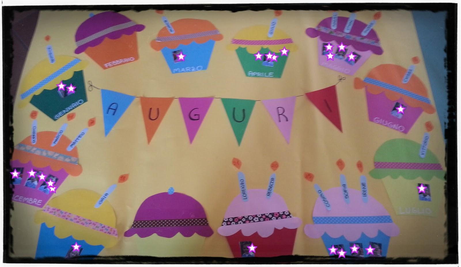 Coco tra coccole e colori un goloso cartellone dei for Idee per cartelloni scuola infanzia