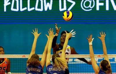 Las Reinas abren con un histórico e ilusionante triunfo sobre Rusia en  la Liga de Naciones