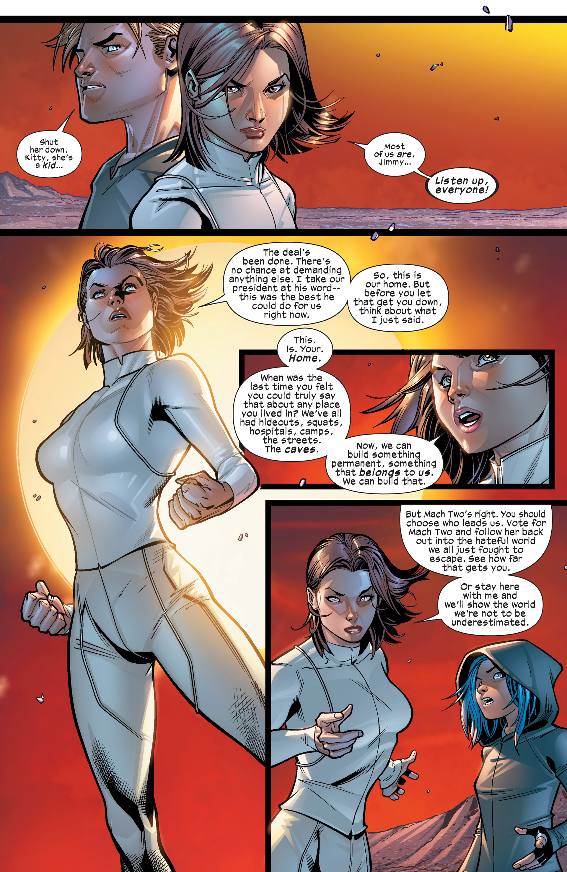 Read online Ultimate Comics X-Men comic -  Issue #19 - 8