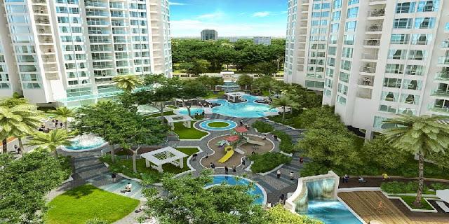 Phối cảnh tổng quan tại chung cư An Bình City