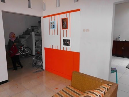 Sekat Partisi Ruang Panel Wood - Custom Furniture Semarang