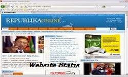 Website Statis, Jasa Buat Website, Jasa Pembuatan Website