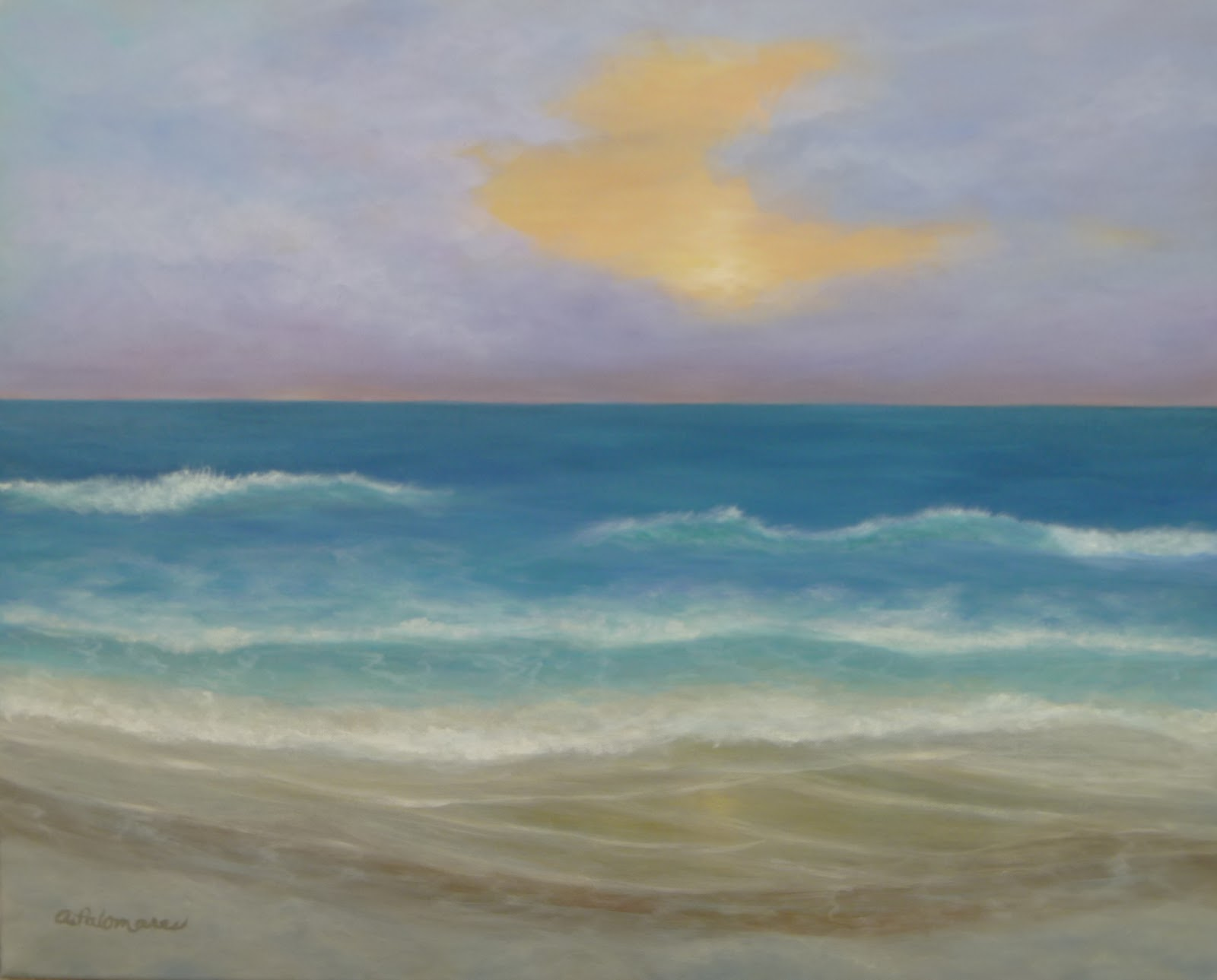 March 2012 | Amber Palomares Coastal and Nature Paintings