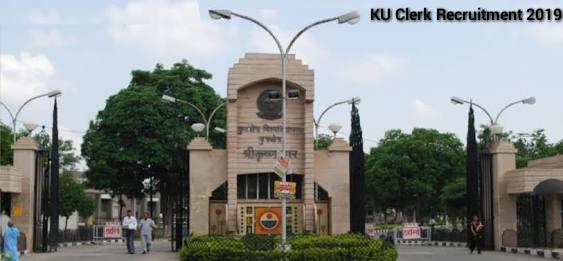 Kurukshetra University Clerk Recruitment 2019- Apply Online for 198 Posts