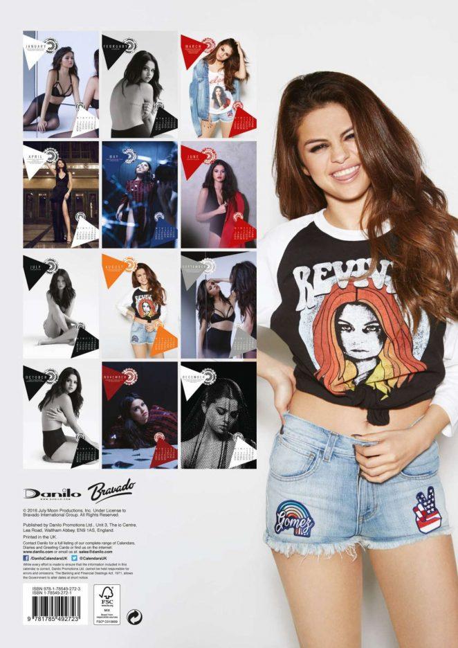 Selena Gomez - Calendrier 2017