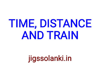 TIME DISTANCE AND TRAIN NOTE BY RAKESH YADAV SIR