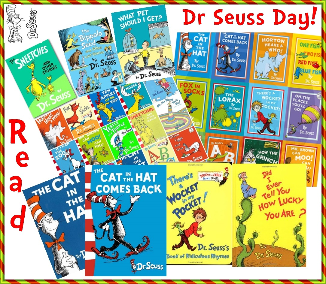Kid Literature Blog Dr Seuss Day