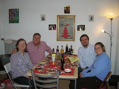 Cena navideña, Berlin, Alemania, round the world, La vuelta al mundo de Asun y Ricardo, mundoporlibre.com