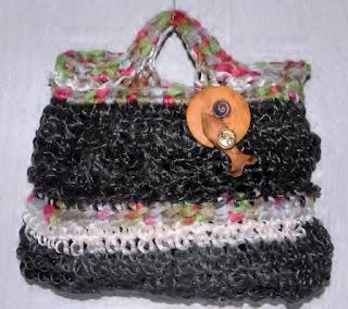 sac à main en ficelle agricole recyclee