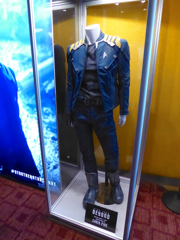 Star Trek Beyond Captain Kirk film costume