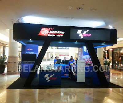 MotoGP Ticket Counter Booth KLCC