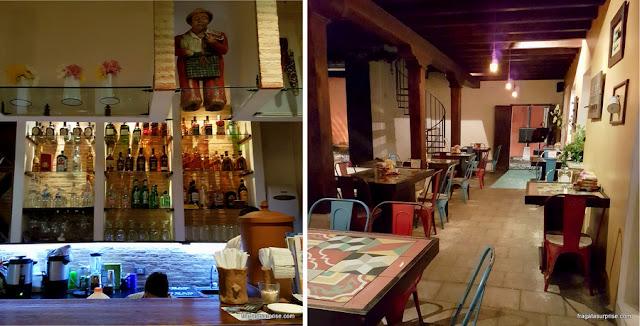 Rstaurante 7 Caldos, especializado em comida tradicional da Guatemala, em Antigua