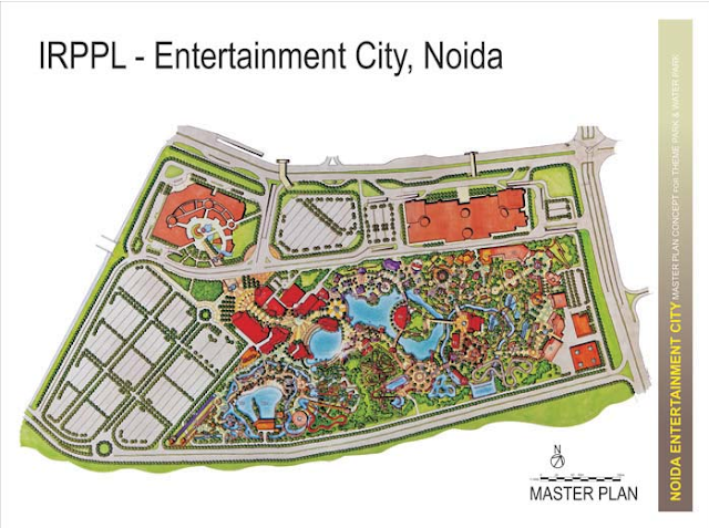 Noida Diary: Entertainment City, Noida Master Plan
