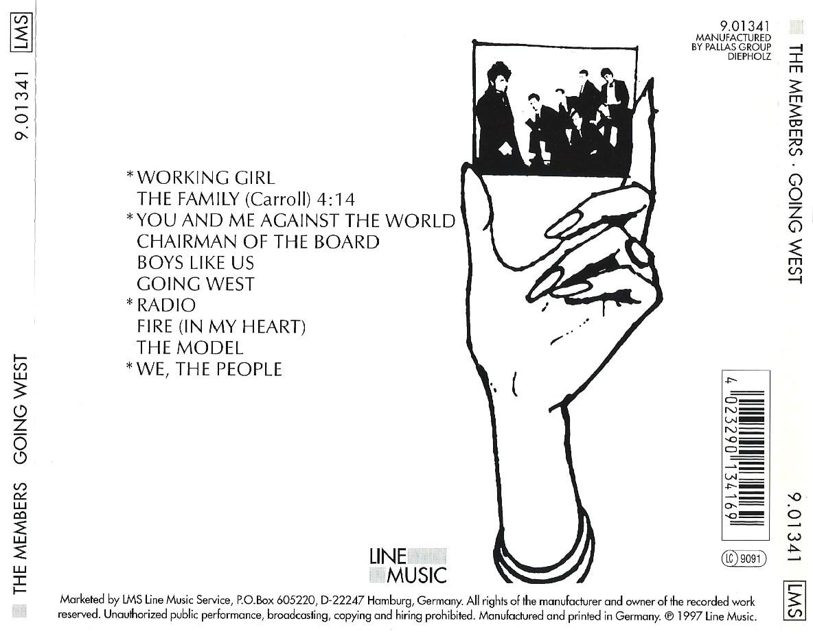 The Members - Uprhythm, Downbeat