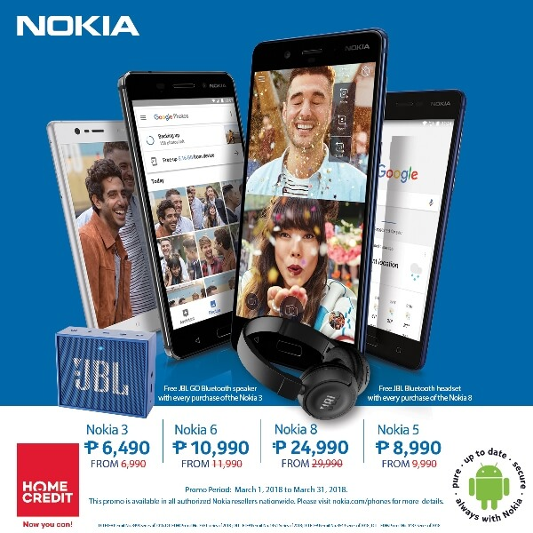HMD Global Announces Nokia Android Smartphones Promo; Extends Partnership with Home Credit