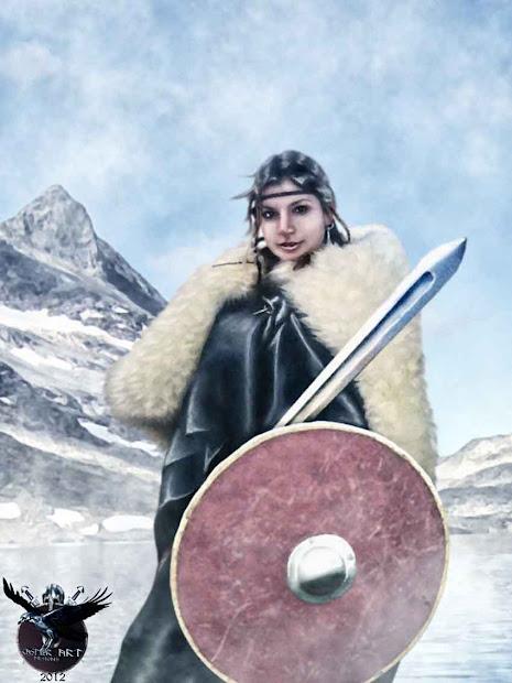 Viking Post Woman Julia Drakka