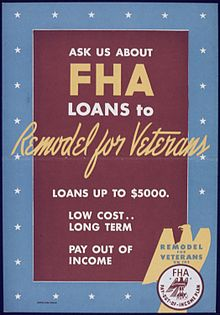 WW2 era FHA poster