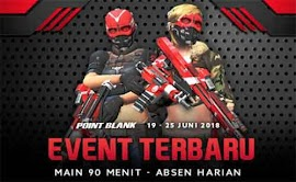 Event PB Garena 19 Juni 2018 Persiapan Ultah Ke-3 Point Blank