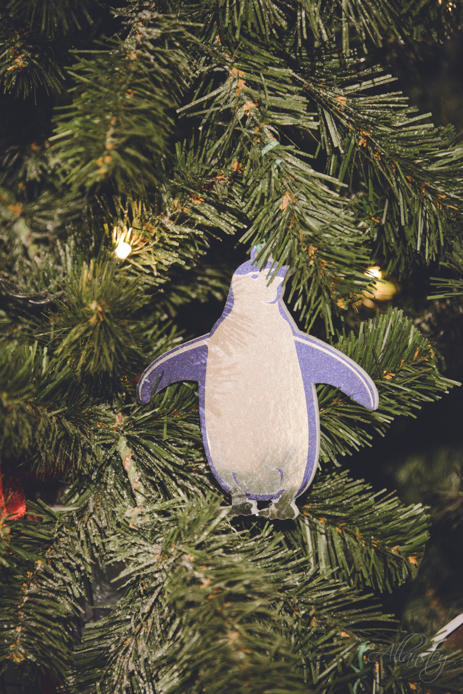 Penguin Christmas tree decoration