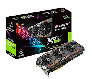 scheda video Asus GeForce STRIX GTX 1080