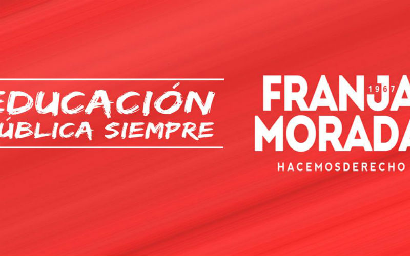 Franja Morada Derecho