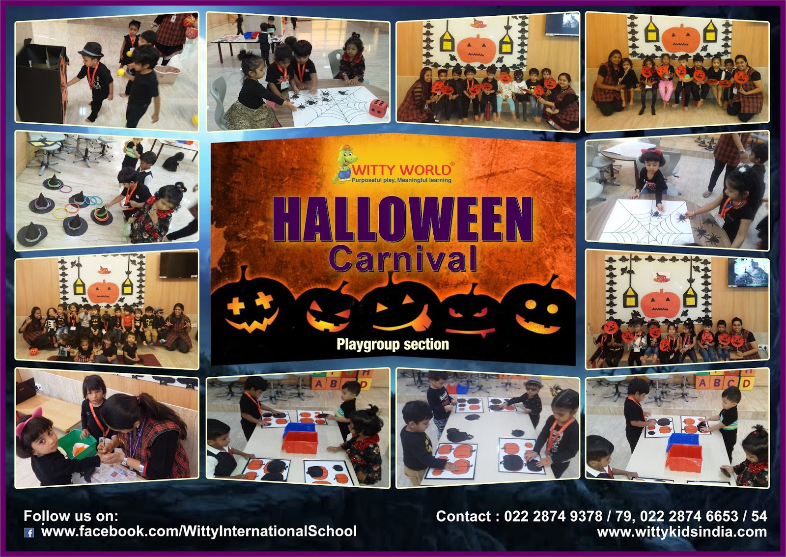 Carnival Halloween Theme.On The Top Of The World Halloween Carnival Of Pre