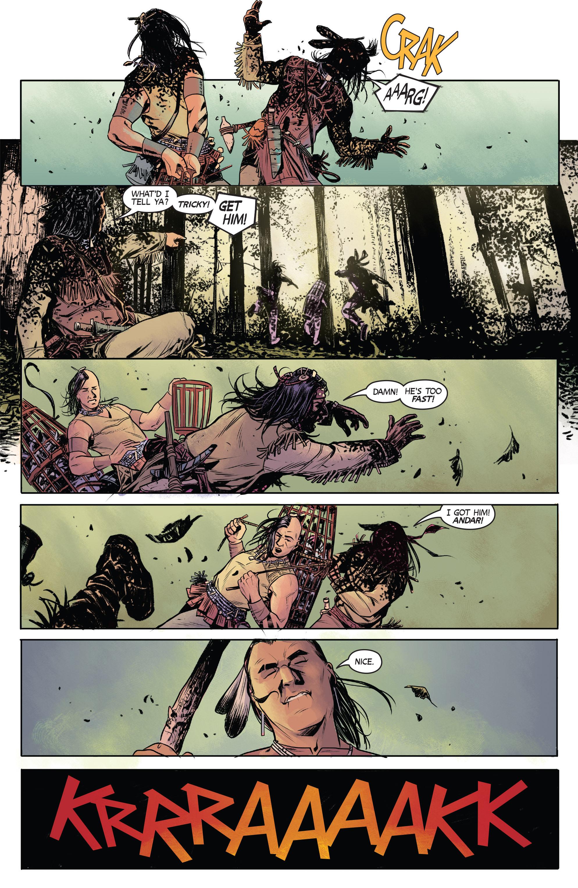 Read online Turok: Dinosaur Hunter (2014) comic -  Issue # _TPB 1 - 11