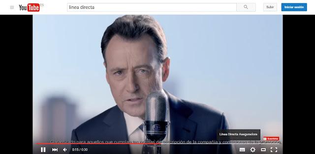Matías Prats - Línea Directa - Anuncio - Youtube Anuncios de Seguros que me hacen sentir inseguro Publicidad - Campaña de Publicidad - ÁlvaroGP - Álvaro García - el troblogdita