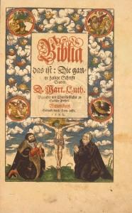 Uma bblia que voc nunca encontraria numa livraria crist a bblia que voc est vendo foi traduzida e publicada pelo reformador protestante martinho lutero fandeluxe Gallery