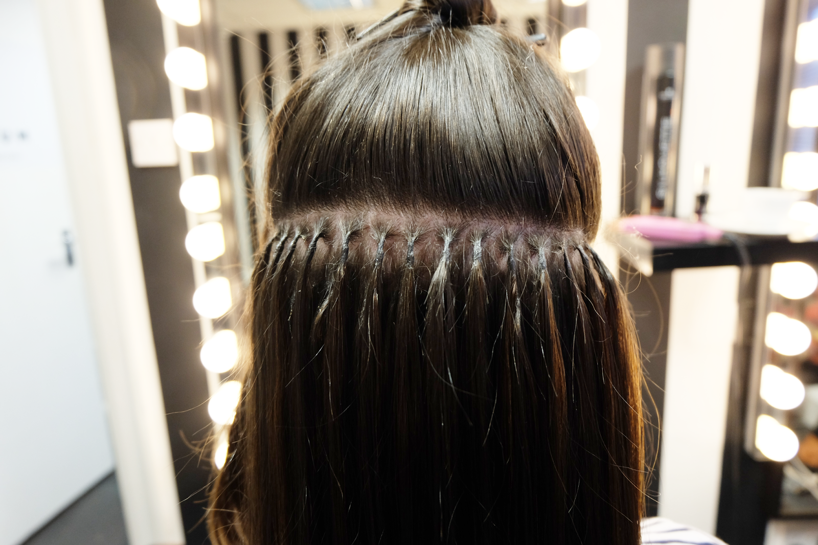 First set of hair extensions with platinum prestige penneys to the whole process was surprisingly fast and completely painless the bonds used to apply the hair extensions are also very small so they blend really well pmusecretfo Images