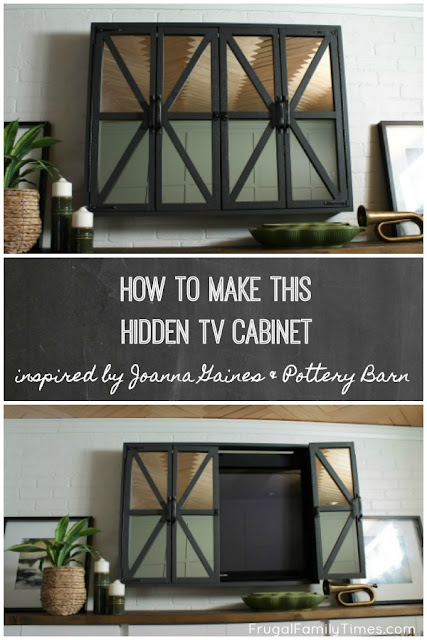 hidden tv cabinet