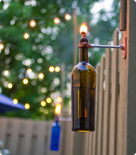 Kerajinan Tangan Dari Botol Bekas - Lampu Hias