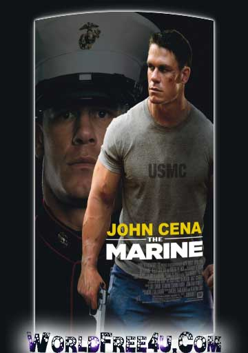 Poster Of The Marine (2006) Full Movie Hindi Dubbed Free Download Watch Online At worldfree4u.com