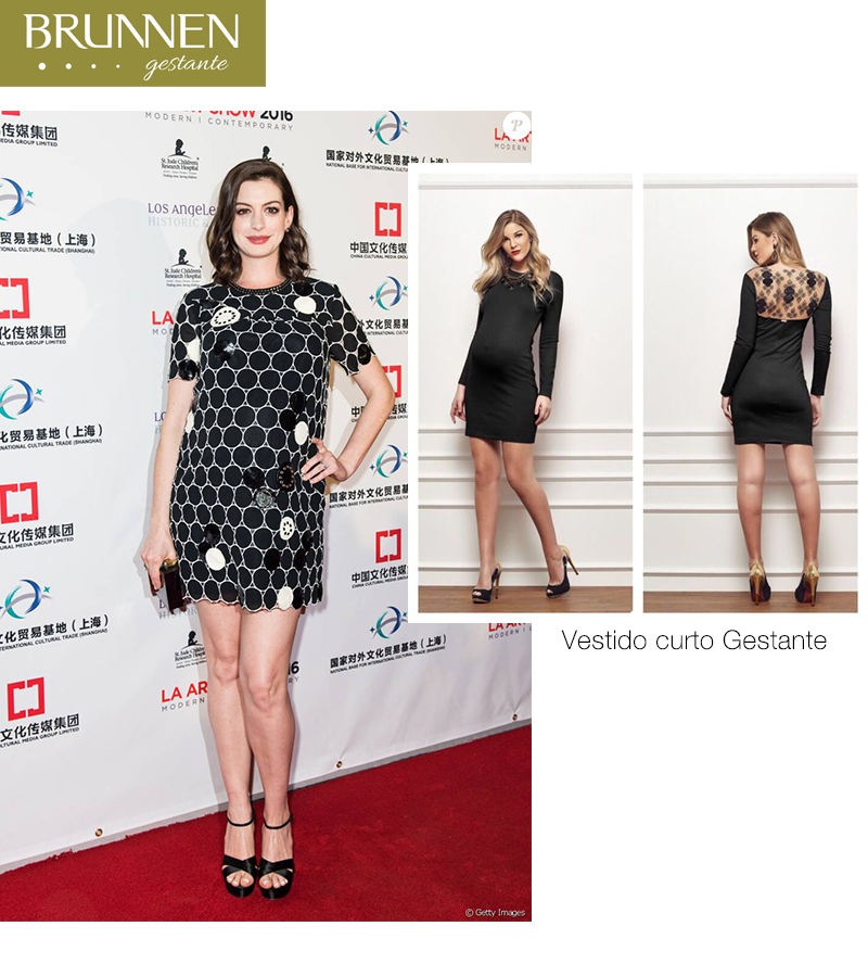 Portal Gestante: Roube O Look Da Mamãe Anne Hathaway