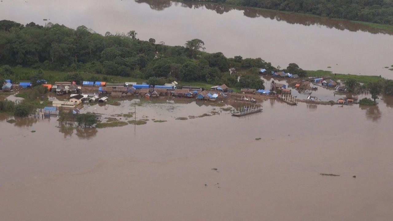 Beni se apresta a recibir un segundo golpe de agua que activará inundación esta semana / GADB