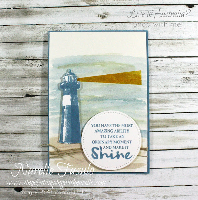 Make fantastic cards like this with the High Tide stamp set. Get  yours today here - http://bit.ly/2nSlOyd