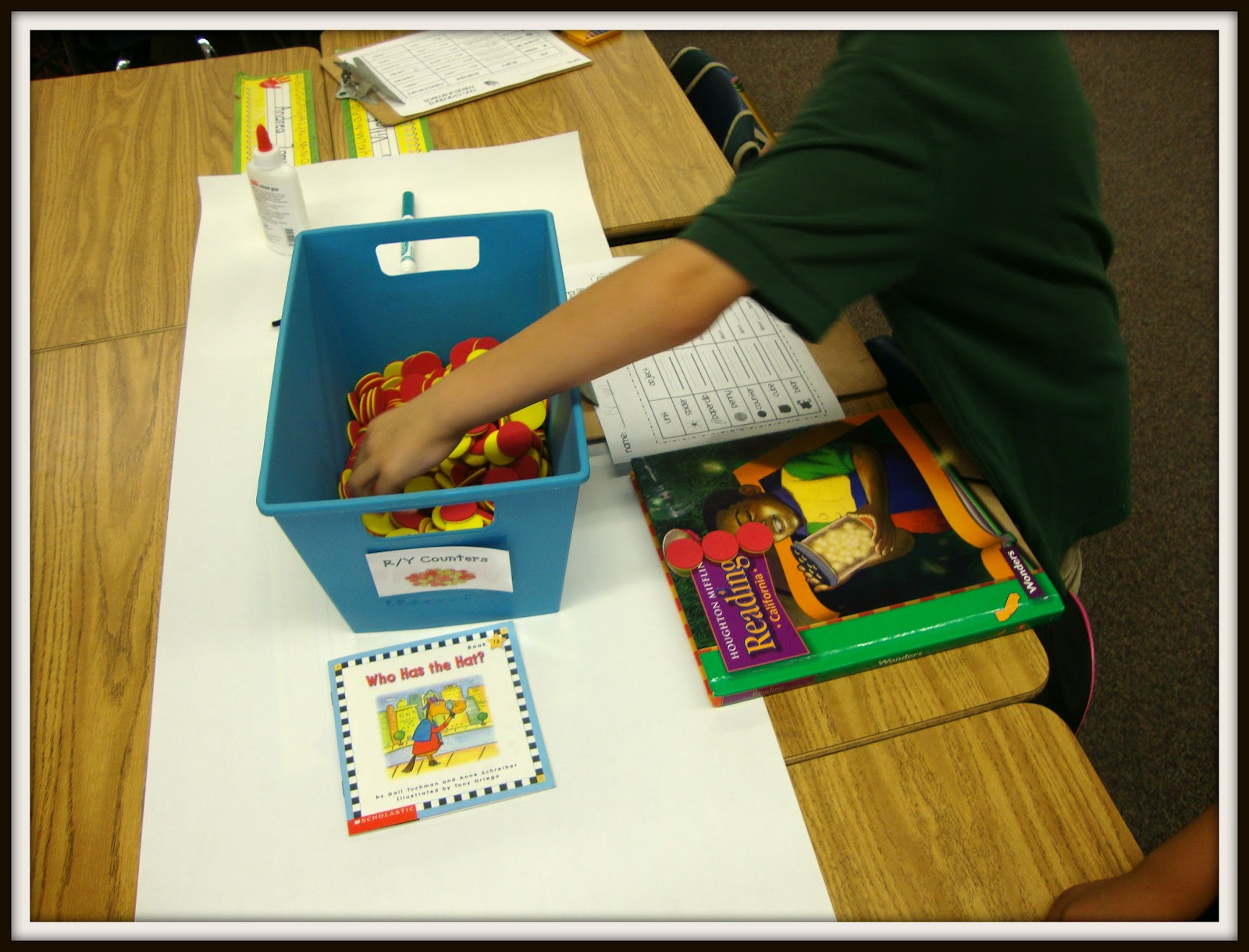 Today In First Grade Non Standard Measurement Freebie