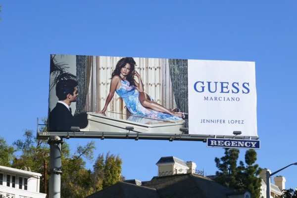 Guess Marciano Jennifer Lopez S18 billboard
