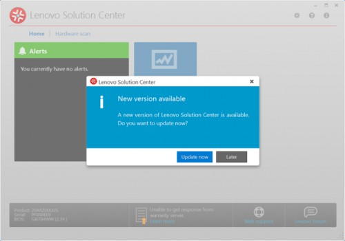 Lenovo Solution Center