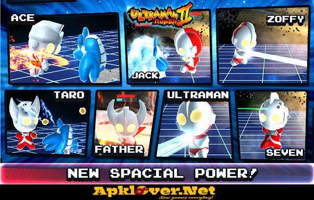 Ultraman Rumble2:Heroes Arena MOD APK unlimited money