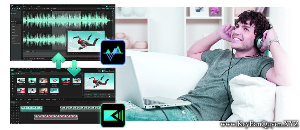 CyberLink AudioDirector Ultra 9.0.2217.0 Full Key, Phần mềm chỉnh sửa - MIX âm thanh chuyên nghiệp