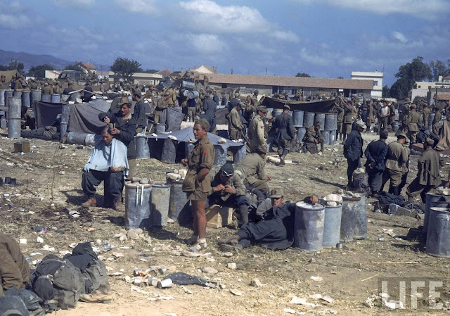 color photos of tunisia and libya in the north african campaign of world war ii  1943