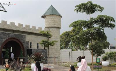 Istana peri masih dalam tahap pembangunan