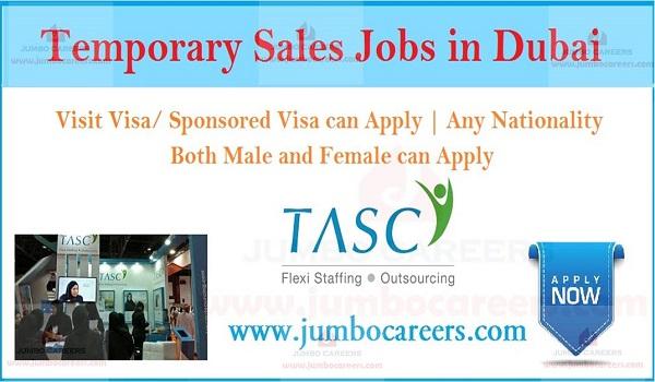 Temporary Sales Jobs In Dubai Visit Visa Sponsored Visa Jobs In