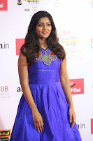 Eesha in Cute Blue Sleevelss Short Frock at Mirchi Music Awards South 2017 ~  Exclusive Celebrities Galleries 011.JPG