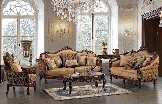 Tuscan Living Room Furniture Design