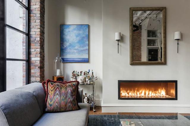 interior singular para un apartamento en Nueva York chicanddeco